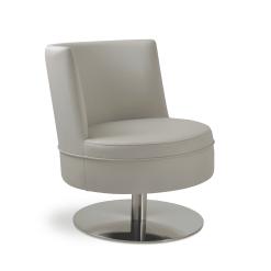 Hilton Swivel Round Accent Chair 002
