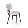 Taylor Dining Chair White Leatherette