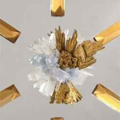 Licata mirror central crystal closeup