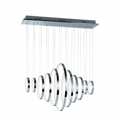 lighting hoops linear pendant