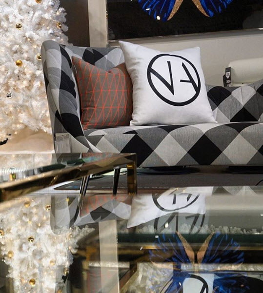 modern sofa showroom