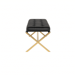 AUGUSTE BENCH gold and black 2