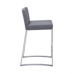Architect Counter Stool grey side 1