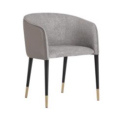 Asher Chair Flint Grey