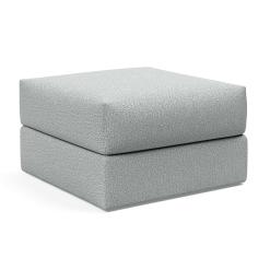 Cornila Puff in Melange Light Grey