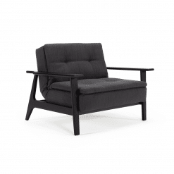 Dublexo Frej Black chair 509 Elegance Anthracite 1