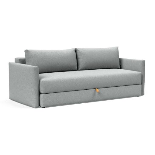 Tripi Sofa Bed in Melange Light Grey