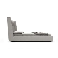 Bedroom bond kingcal GrisFabric  Cinza Ecopelle side