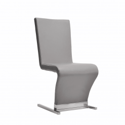 Zoey Chair GREY FRONT