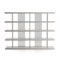 living room beekman bookcase glossy chateau grey