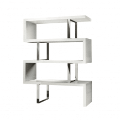 office bookcase pearl bookcase glossywhite