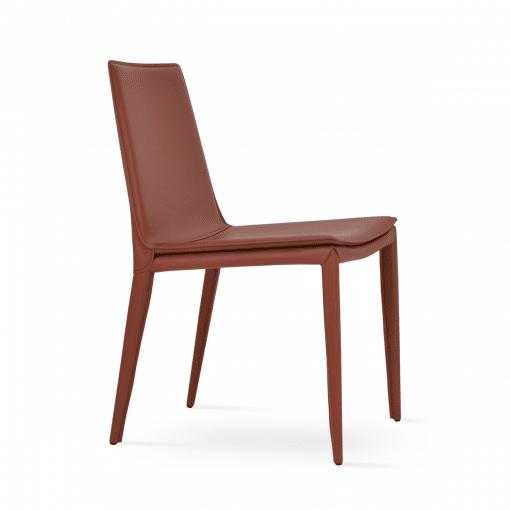 dining room tiffany side chair brick