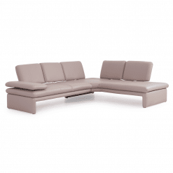 living room bowie sectional pink