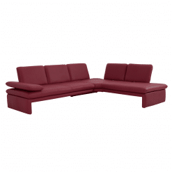 living room bowie sectional red