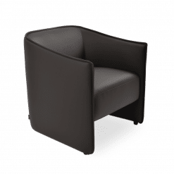 living room conrad accent chair brown ppm