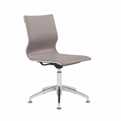 office chair Glider Conference  Chair Taupe