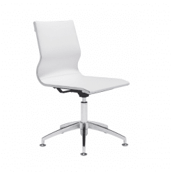 office chair Glider Conference  Chair White