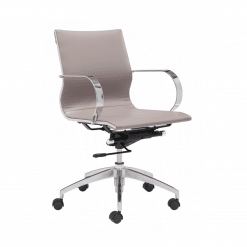 office chair Glider Low Back Office Chair TAUPE