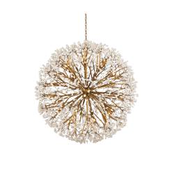 Spherical Thirty Light Quartz Chandelier 1