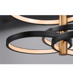 accessories pendant Hoolap E24324 BKGLD LS