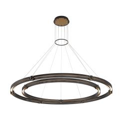 admiral 62 inch 2 tier chandelier