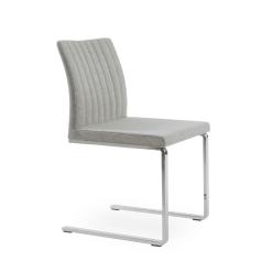 dining chair zeyno flat silver camira wool