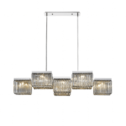 lighting Boradway 5 light chandelier HF4010 PN
