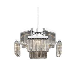 lighting Boradway 8 light chandelier HF4008 PN