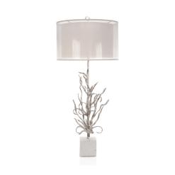 lighting Evanna table lamp silver