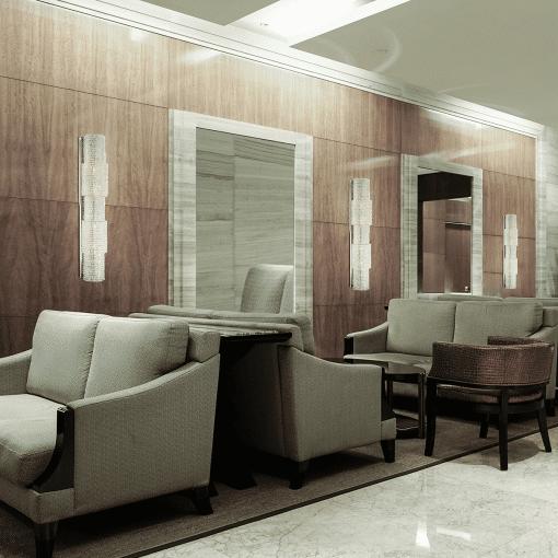 lighting sposa chandelier lobby