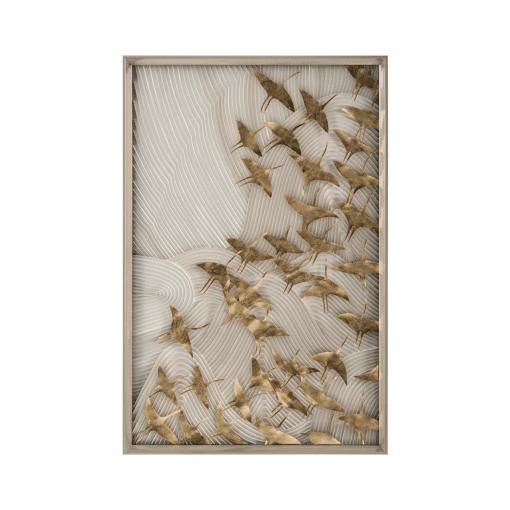 living room art Robats Birds Flight