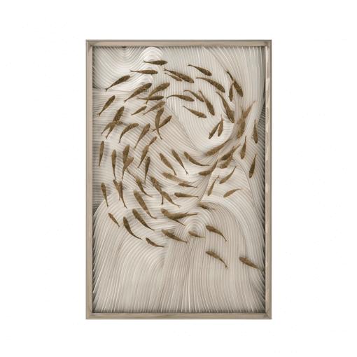 living room art Robats School Fish