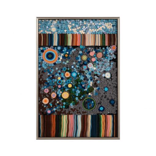 living room art Tony Feys Rainbow Tapestry
