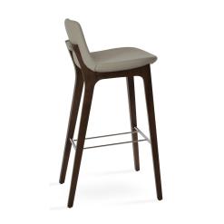 pera hb wood bar stool bone ppm