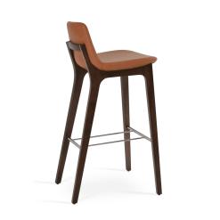 pera hb wood bar stool caramel ppm