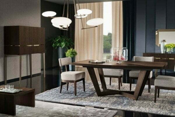 luxury dining set from barrie furniture store