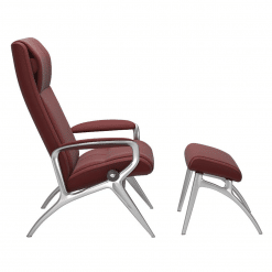 Stressless James with Paloma Cherry Side