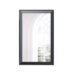 bedroom aaden mirror black