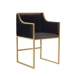 dining chair annabelle in gold 002