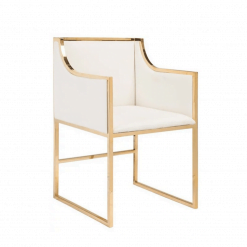 dining chair annabelle in gold