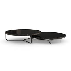 living room adelphi coffee table black glass