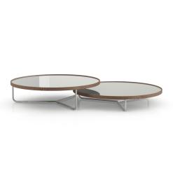 living room adelphi coffee table ice glass