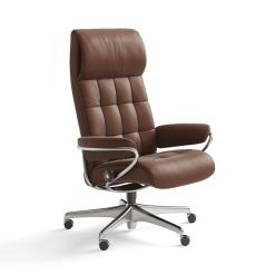 stressless london higback office chair