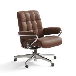 stressless london lowback office paloma copper