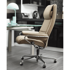 stressless paris highback office chair lifestyle