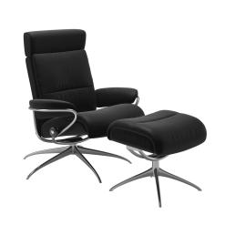 stressless tokyo adjustable headrest paloma black