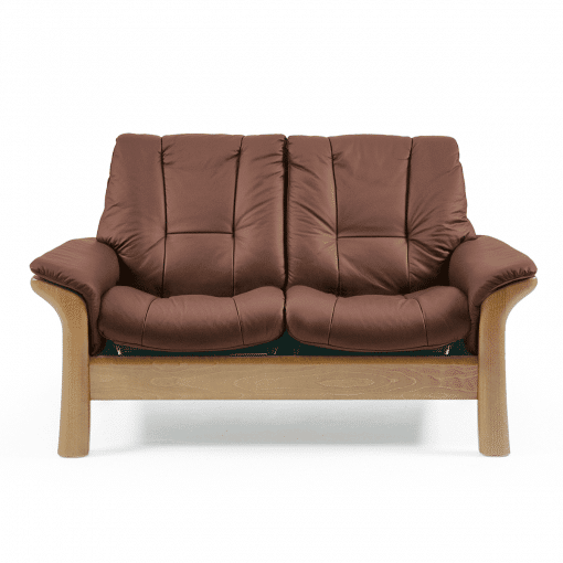 windsor 2 seater lowback chair