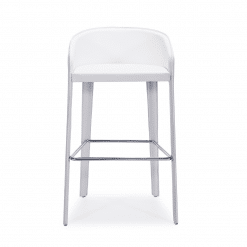 anabel barstool white front