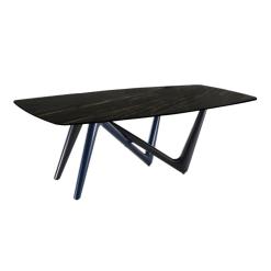 dining room adelio table blackandbrown