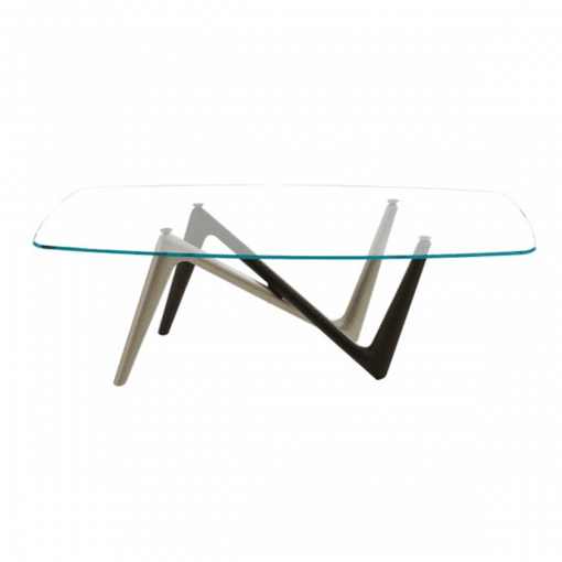 dining room adelio table glass